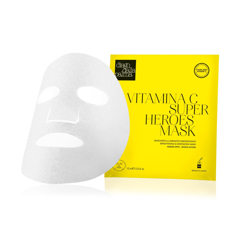 Diego Dalla Palma Vitamina C Superheroes Mask Maschera Illuminante Energizzante 15 Ml