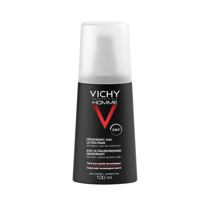 Vichy Homme 24h Ultra Refreshing Deodorant Spray 100 ml